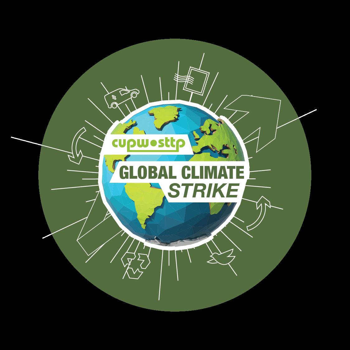 CUPW•STTP Global Climate Strike