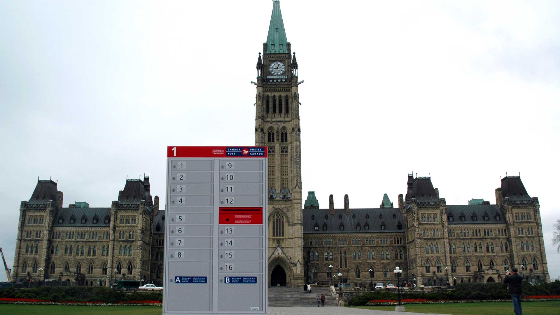Photo of Community Mail Box on Parliament Hill
