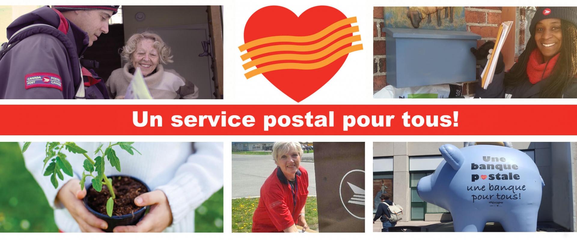 Un service postal pour tous! - Examen gouvernemental de Postes Canada