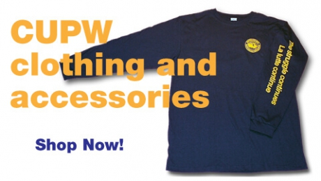 CUPW clothing and  accessories - Shop Now!